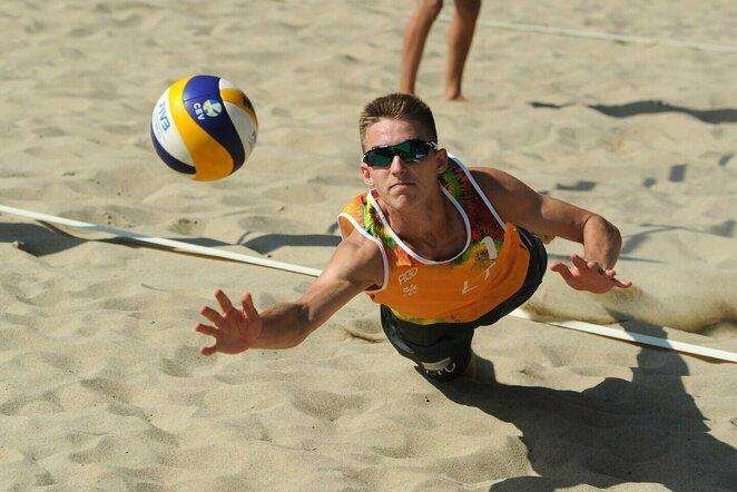 Europos jaunių paplūdimio tinklinio čempionatas   CEV nuotr.