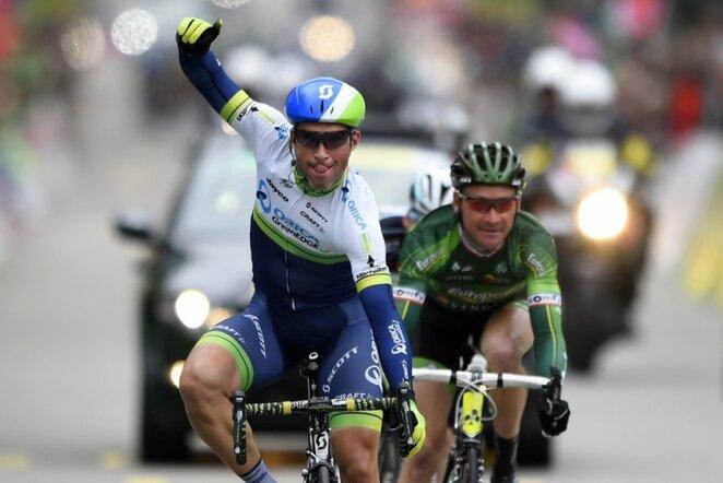 """Tour de Romandie"" lenktynių ketvirtojo etapo finišas   AFP/Scanpix nuotr."