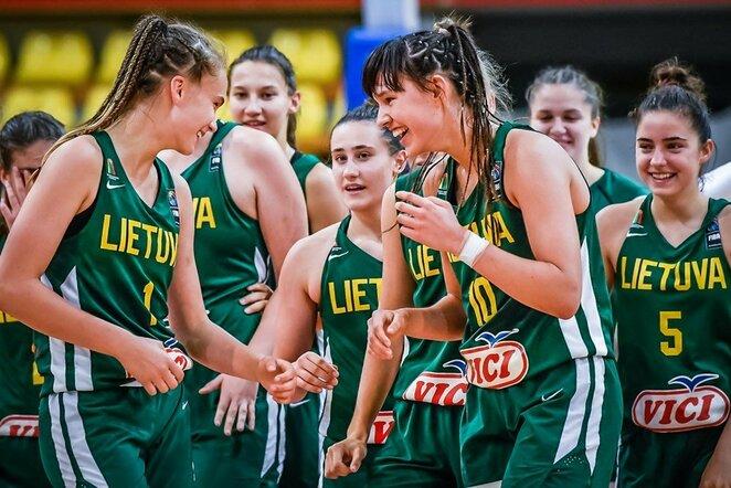 Justė Jocytė ir Urtė Čižauskaitė | FIBA nuotr.