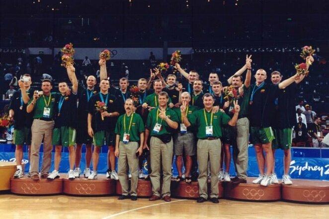 2000 m. Lietuvos krepšinio rinktinė | FIBA nuotr.
