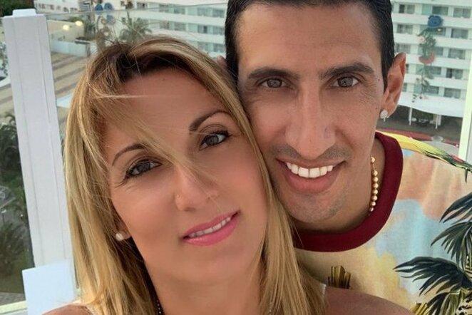 A.Di Maria su žmona | Instagram.com nuotr