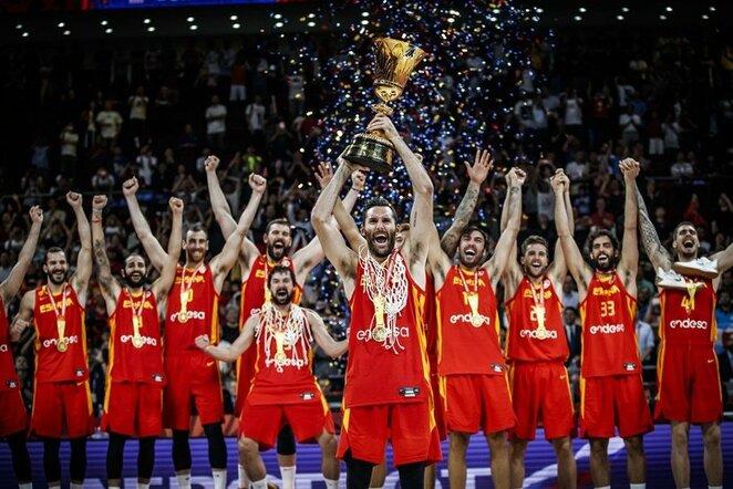 Ispanijos rinktinė   FIBA nuotr.