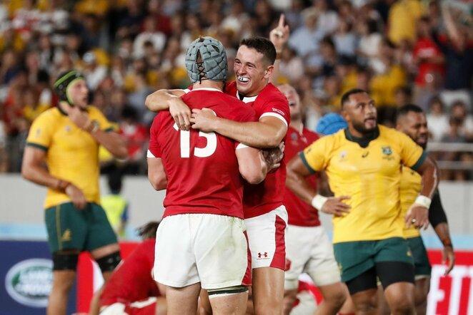 Velso ir Australijos rinktinių rungtynės   Scanpix nuotr.