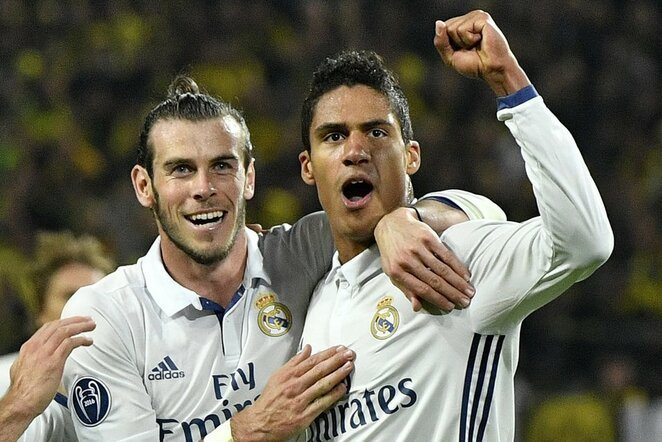 Garethas Bale'as ir Raphaelis Varane'as | Scanpix nuotr.