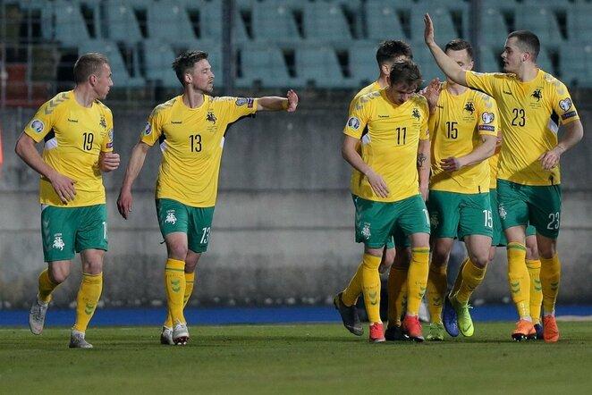 Lietuvos ir Liuksemburgo rinktinių rungtynės | Gerry Schmit nuotr.