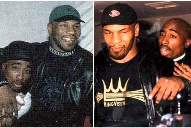 Mike'as Tysonas ir Tupacas Shakuras | Instagram.com nuotr