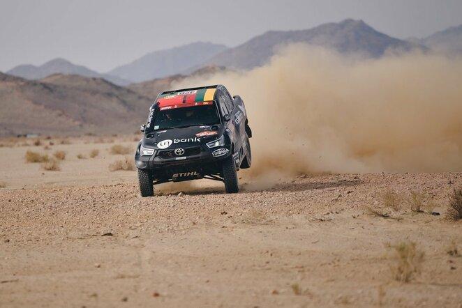 Dakaro ralio dešimtasis etapas | Vytauto Pilkausko nuotr.