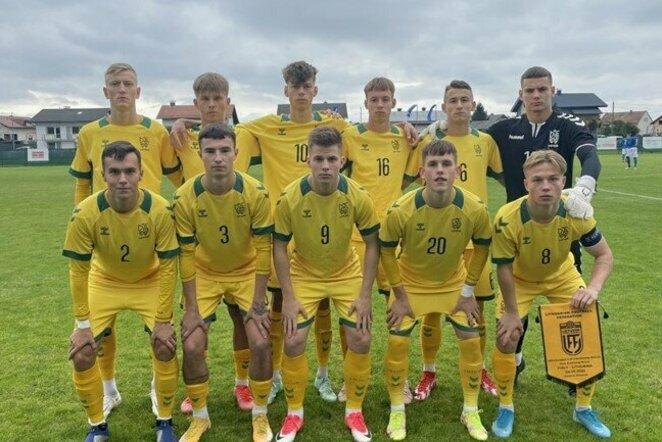 Lietuvos U-19 rinktinė | LFF nuotr.