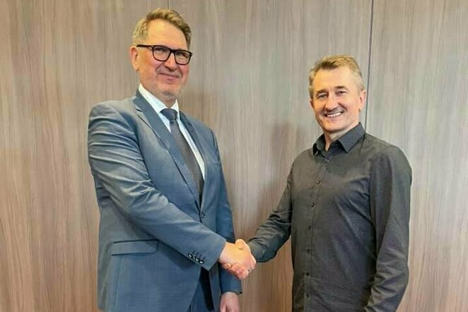 Romas Vitkauskas ir Alfonsas Valuntonis   Organizatorių nuotr.