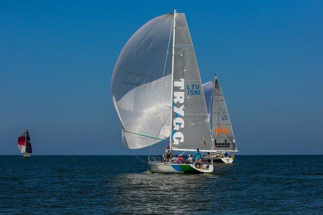 52-oji Kuršių marių regata   Organizatorių nuotr.