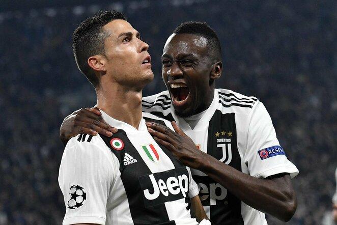 Cristiano Ronaldo ir Blaise'as Matuidi   Scanpix nuotr.