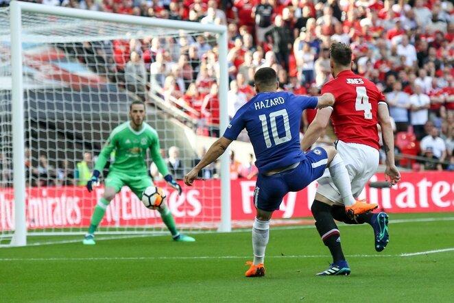 "Anglijos FA taurės finalas: Londono ""Chelsea"" - ""Manchester United"" (2018.05.19) | Scanpix nuotr."