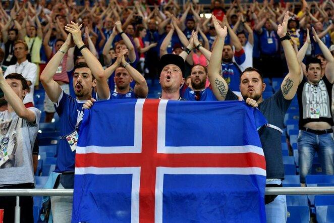 Islandijos gerbėjai | Scanpix nuotr.