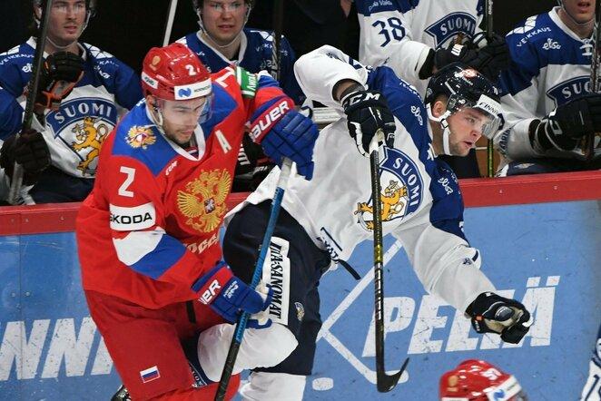 Suomių ir rusų rungtynės | Scanpix nuotr.