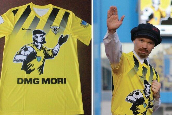 Vladimiro Lenino marškinėliai   Organizatorių nuotr.