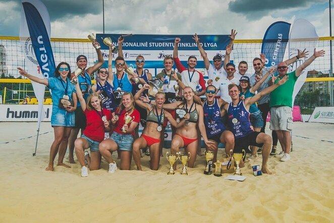 Lietuvos paplūdimio tinklinio studentų čempionatas   Organizatorių nuotr.