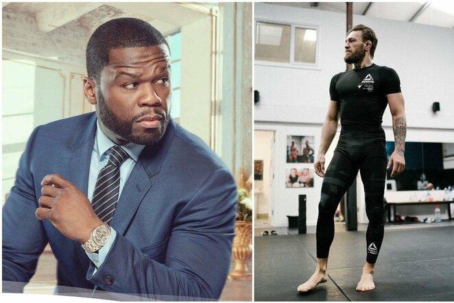 """""""50 Cent"""" ir Conoras McGregoras   Instagram.com nuotr"""