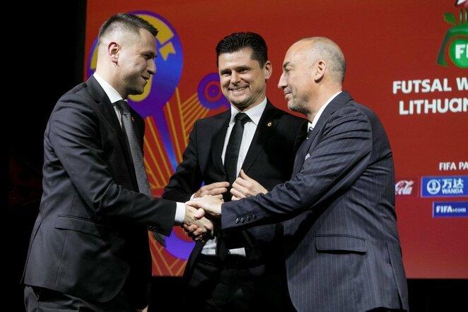 Edgaras Stankevičius (kair.) ir Tomas Danilevičius (centre) | lff.lt nuotr.