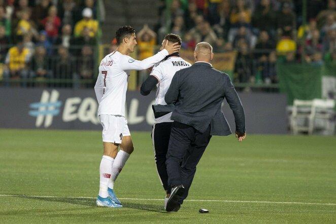 Cristiano Ronaldo   Luko Balandžio / BNS foto nuotr.