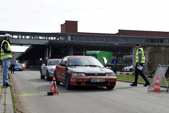 """""""H2auto"""" Lietuvos greituminio slalomo čempionato etapas   Organizatorių nuotr."""