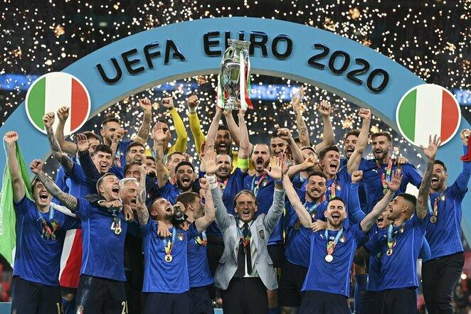 Italijos futbolo rinktinė   Scanpix nuotr.