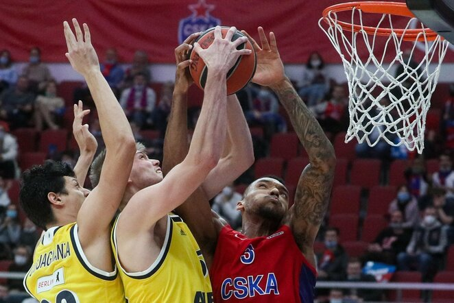 ALBA ir CSKA   Scanpix nuotr.
