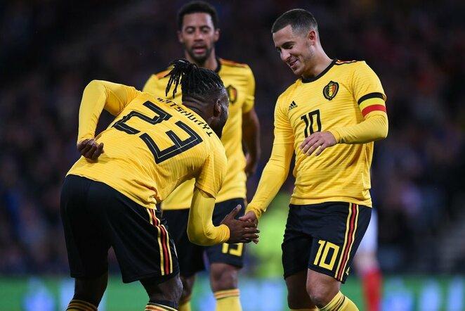 Škotija - Belgija rungtynių akimirka  | Scanpix nuotr.