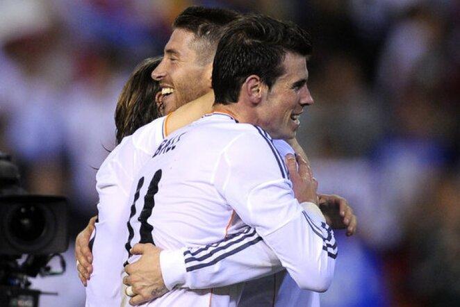 Garethas Bale'as ir Sergio Ramosass | AP/Scanpix nuotr.