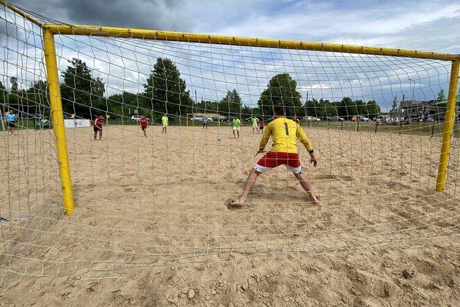 Paplūdimio futbolas  | Diana Yushaite ir Algimanto Barzdžiaus nuotr.