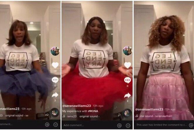 Serena Williams   Instagram.com nuotr