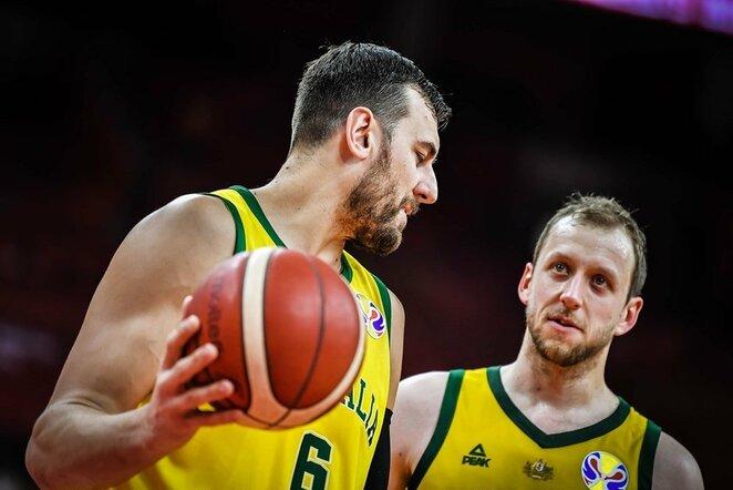 Bogutas ir Inglesas | FIBA nuotr.
