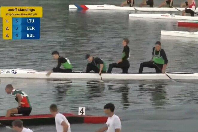 Denisas Kovaliovas, Jevgenijus Budionovas, Lukas Gudijus ir Mantas Skarulskis | Organizatorių nuotr.