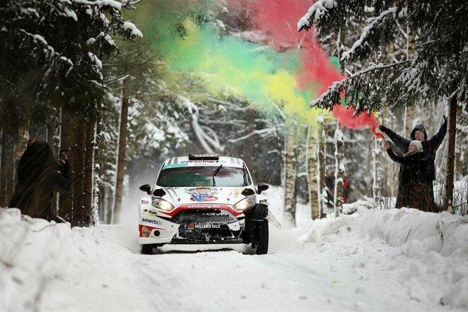 """""""Winter Rally""""   Organizatorių nuotr."""