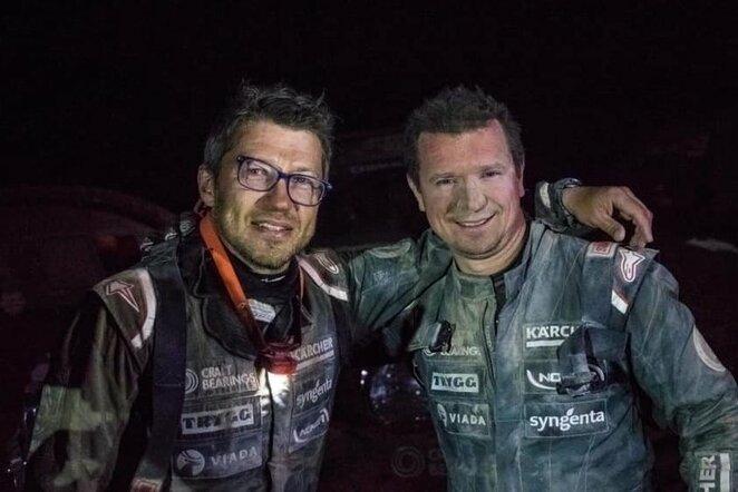 Darius Vaičiulis ir Antanas Juknevičius   Organizatorių nuotr.