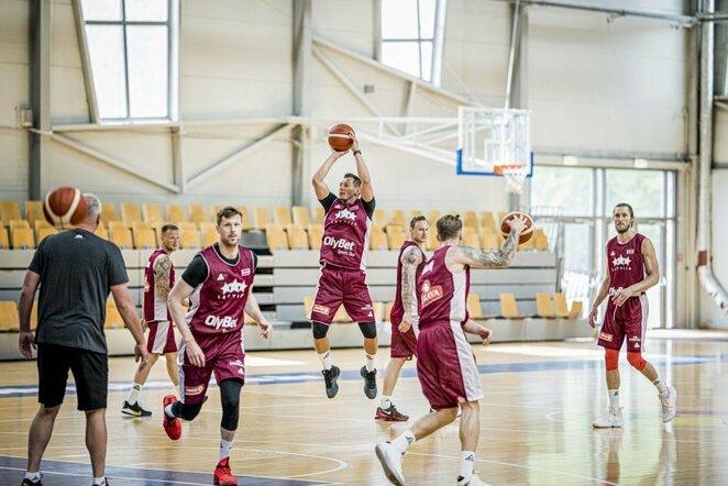 Latvijos rinktinė   Organizatorių nuotr.