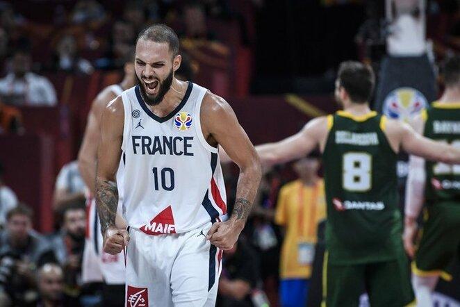Prancūzija – Australija rungtynių akimirka   FIBA nuotr.