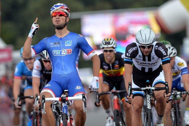 "Ketvirtojo ""Eneco Tour"" etapo finišas | AFP/Scanpix nuotr."