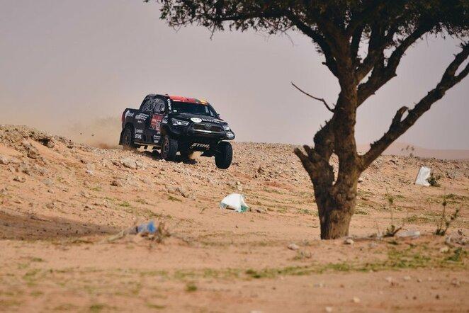 Dakaro ralio penktasis etapas   Vytauto Pilkausko nuotr.