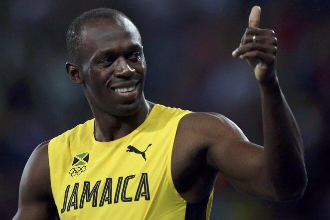 Usainas Boltas   Scanpix nuotr.