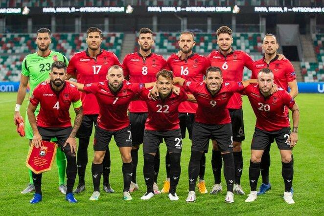 Albanijos futbolo rinktinė | Organizatorių nuotr.