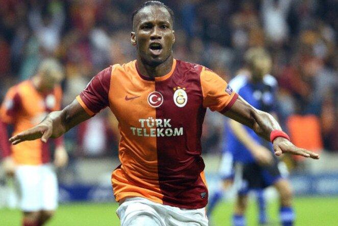 Didieras Drogba   Turkpix nuotr.