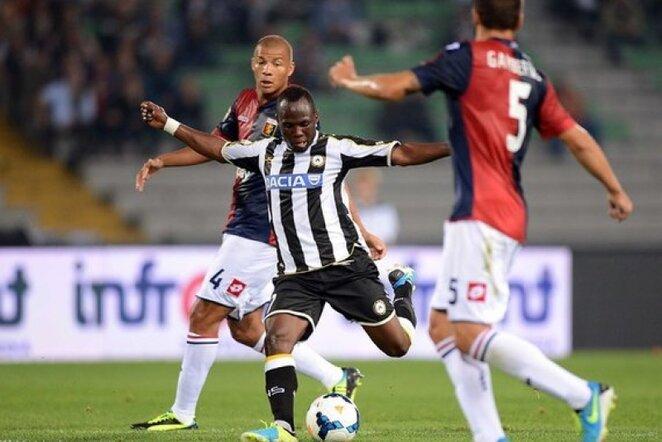 """Udinese"" – ""Genoa"" rungtynių nuotrauka | LaPresse/Scanpix nuotr."