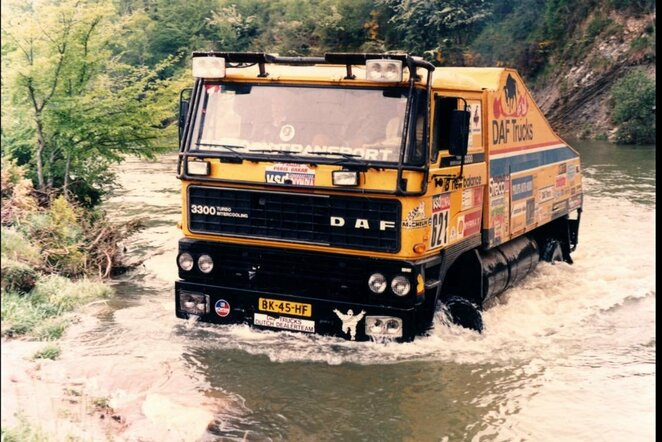 """Legendinė """"De Rooy"""" komanda planuoja didįjį sugįžimą į Dakarą   Organizatorių nuotr."""
