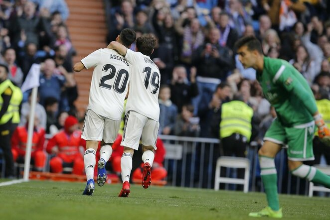 """Real"" – ""Melilla"" rungtynių akimirka    Scanpix nuotr."