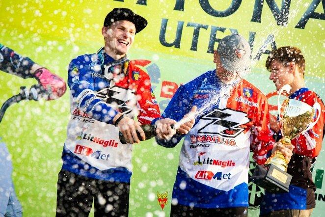 Finalinis Lietuvos motokroso čempionato etapas Utenos rajone   Organizatorių nuotr.