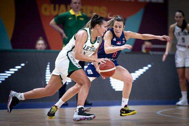 Lietuvių ir serbių rungtynės   FIBA nuotr.