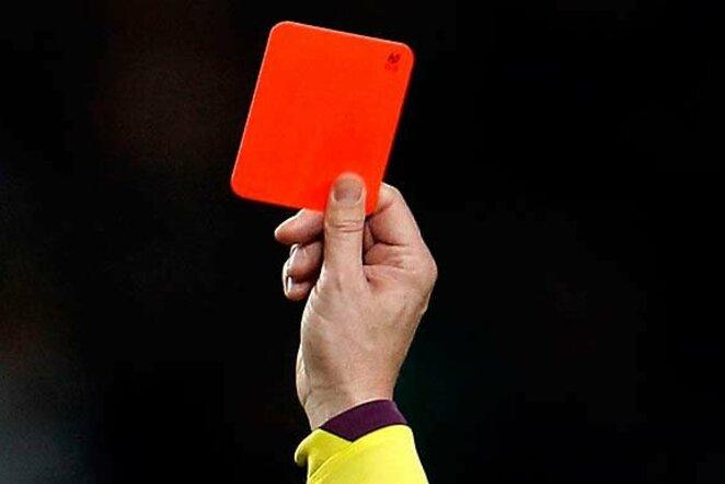 Raudona kortelė   Organizatorių nuotr.