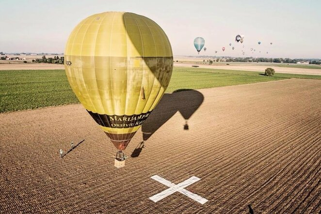 "Karšto oro balionai | ""Facebook"" nuotr."