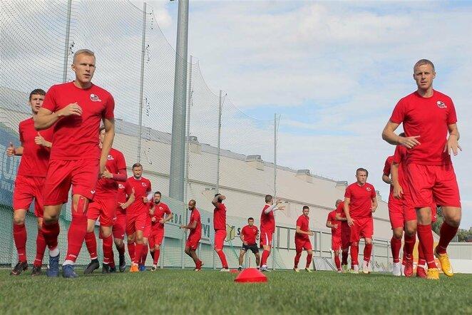 """""""Sūduvos"""" treniruotė prieš UEFA Čempionų lygos atranką   Evaldo Šemioto nuotr."""