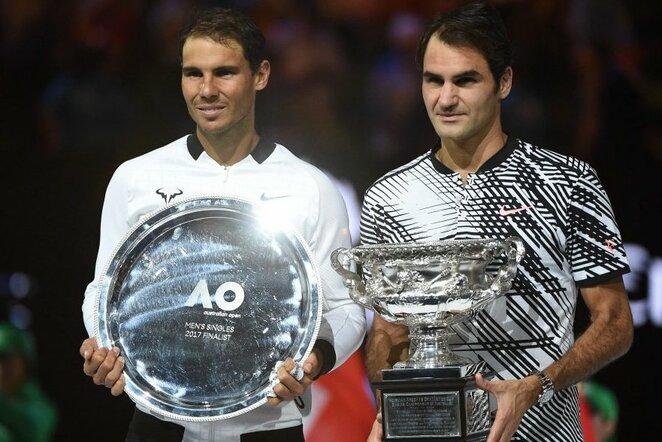 Rogeris Federeris ir Rafaelis Nadalis   Scanpix nuotr.